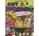 Out of this World No.4 Sci-Fi Comic UK Issue 70s/80s Vintage
