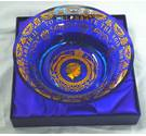 Commemorative Heavy Glass Dish to Celebrate the Eightieth Birthday of Queen Elizabeth the Second