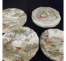 "Vintage Meakin ""Welcome Home"" assorted china"