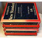 Harrap's New Standard French to English/English to French Dictionary complete set