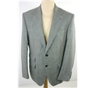 NWOT M&S Satorial size: 40M monochrome check wool single breasted blazer