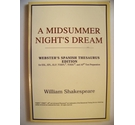 Midsummer Night's Dream (Webster's Spanish Thesaurus Edition