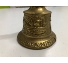 Metal Bell Featuring Christopher Columbus's Ships