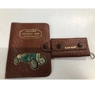 Vintage Driving Licence, Insurance and Car Key wallets Unbranded - Size: XS - Brown - Wallet