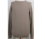 George Cotton Pullover Mushroom brown Size: M