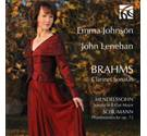 Brahms Clarinet Sonatas Emma Johnson CD