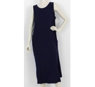 M&S Collection Maxi Shift Dress Navy Size: 14
