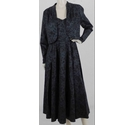 Laura Ashley Dress and Jacket Co-Ord Black Size: 10