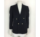 St Michael Suit Jacket Navy Size: L