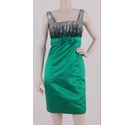 Debut Sequin Embellished Dress Emerald Green Size: 8