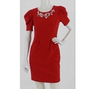 Max Mara Formal Dress Red Size: S