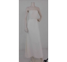 Victoria Jane Crochet Trim Dress Cream Size: 10