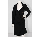 Vivienne Westwood Skirt and Jacket 2 piece Black Size: 8
