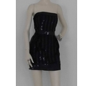Unbranded Sequin Embellished Dress Black Size: S