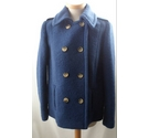 Per Una- Double breasted jacket Royal Blue- Size: 14