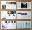 Free Postage - 3 x Science Themed First day Cover FDC Stamps - 1989-94