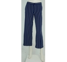 Ralph Lauren Petite Striped Culottes Blue and White Size: 29""