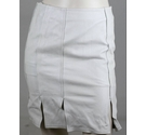 Gucci Leather Skirt Cream Size: S