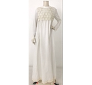 Unbranded Flower Crochet Wedding Dress White and Ivory Size: M