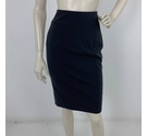Burberry Tailored Pencil Skirt Black Size: 4