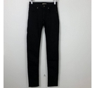 Burberry Low Rise Slim Jeans Black Size: 24""