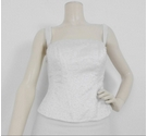 Folio by Tracy Connop Bead Embellished Bodice White Size: 14