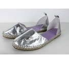 M&S Collection Metallic Sandals Silver Size: 7