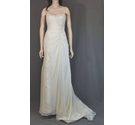 Mori Lee wedding dress by Madeline Gardner Size: 6 - Colour: Ivory