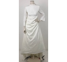 Unbranded Crochet Bodice Wedding Dress Ivory Size: S