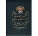Luxury Royal Mail Stamp Album for GB Stamps, 1952-1970, with slipcase and stamps