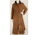 Barbour Wax Coated Cotton Coat Tan Size: 12