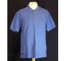 BNWOT Blue Harbour polo shirt 100 cotton BRIGHT BLUE Size: M