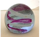 "Caithness Glass Numbered Paperweight ""Pastel"""