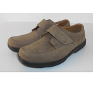 M&S Collection Airflex Nubuck Leather Shoes Sand Brown Size: 7