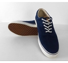 M&S Collection Suede Plimsolls Trainers Blue Size: 10