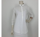 Burberry 3/4 Inside Check Shirt White Size: S