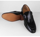 M&S Collection Loafers Black Size: 9