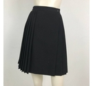 Planet Wrap Over Pleated Tennis Skirt Black Size: 16