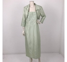 Jessica Howard Dress and Cropped Jacket Pastel Green Size: 12