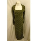 Annmaree Chambers Vintage evening dress green Size: 10