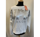 Superdry Sweatshirt White Size: 14