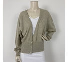 N.Peal Cashmere Cardigan Grey Size: One size: regular