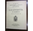 La Givditta Di Cambridge Oratorio