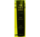 NET Bible - leather bound