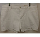 M&S Marks & Spencer Shorts White Size: 38""