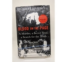 Blood on the Page: A Murder, a Secret Trial, a Search for the Truth by Thomas Harding - Signed