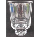 "Dartington Crystal large ""Barbeque"" hurricane light"