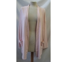 BNWT-Lands End - Cardigan- Pink - Size: XL
