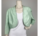 Jacques Vert Evening Cover Up Jacket Mint Size: 16