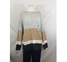 M&S - Jumper - Grey & Brown - Size: L